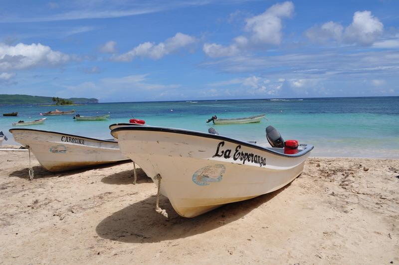Magiczna rybacka miejscowość Las galeras nad zatoką Rincón