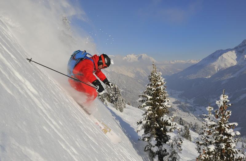 Zimowe szaleństwo w austriackich Alpach