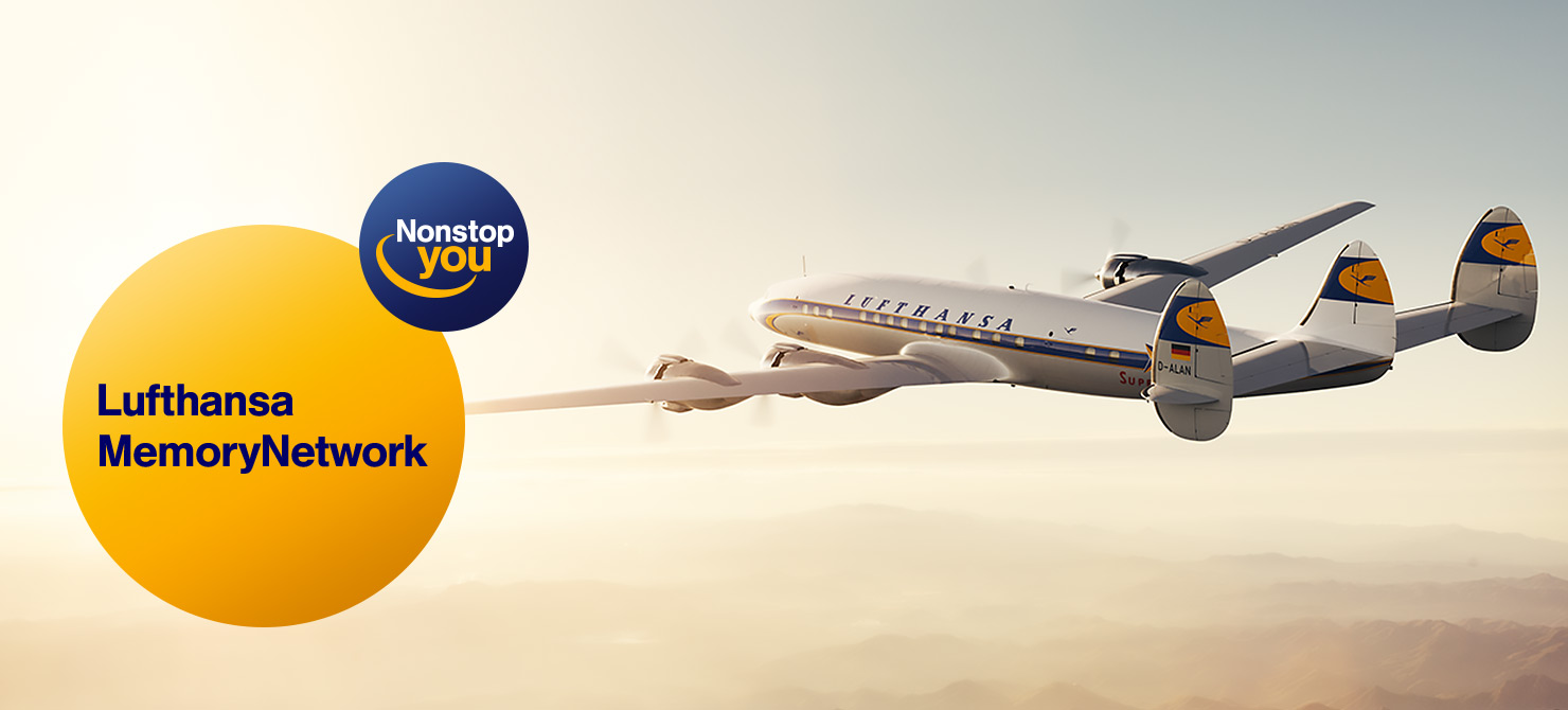 LH Memory Network-Keep your memories alive with The Lufthansa Memory Network