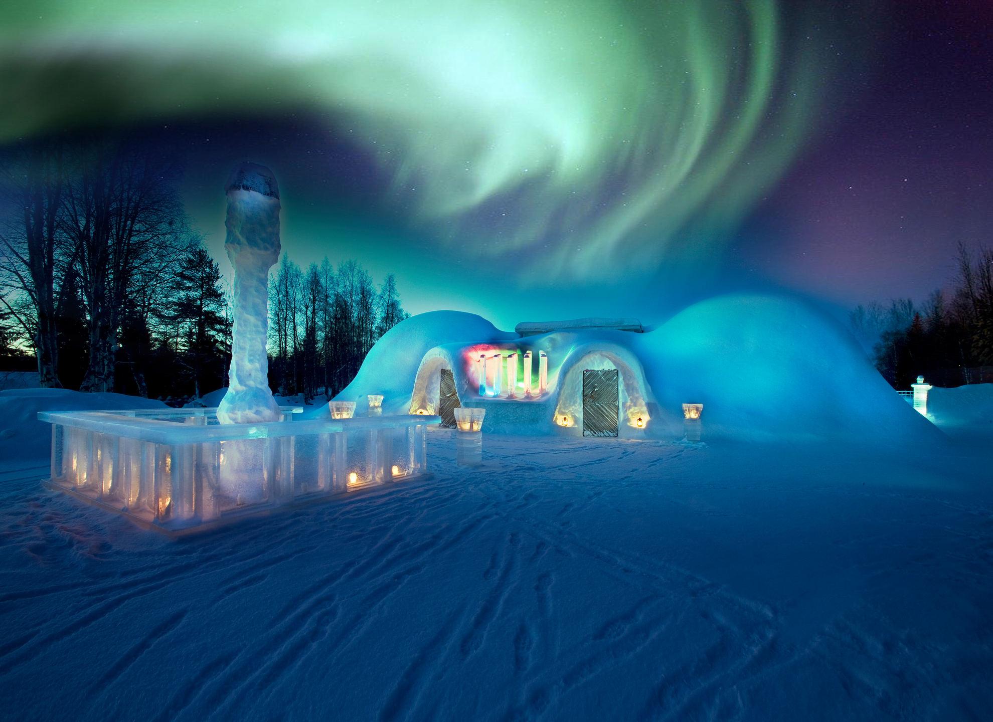 snowland-igloo-restaurant-northern-lights-rovaniemi
