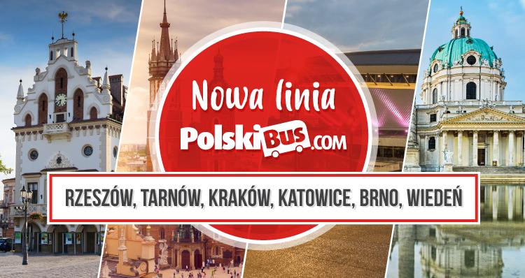 Nowa linia PolskiBus.com