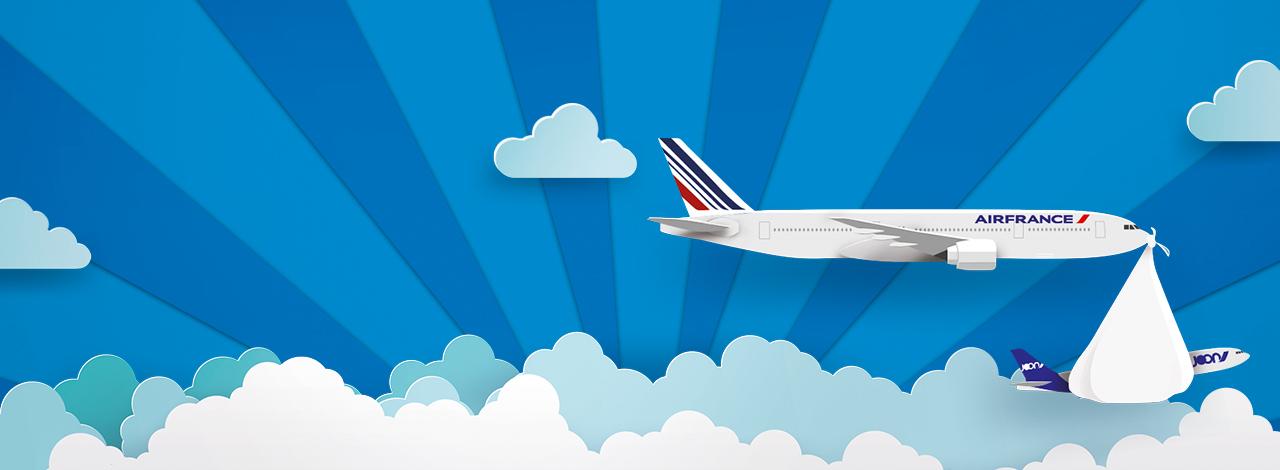 grafika Joon i Air France