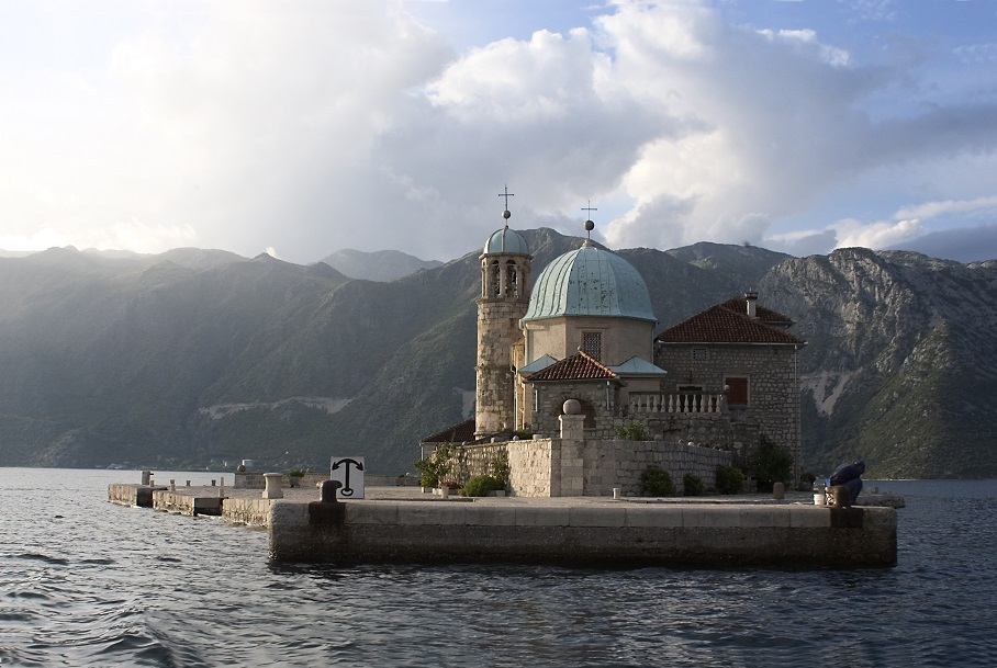 Our Lady of the Rocks island