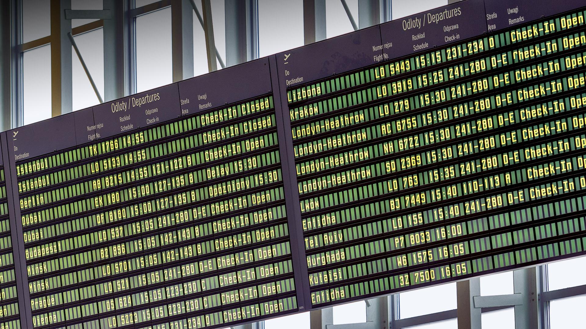 Tablica lotów