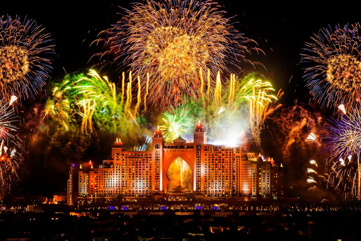 Atlantis The Palm NYE Fireworks preview