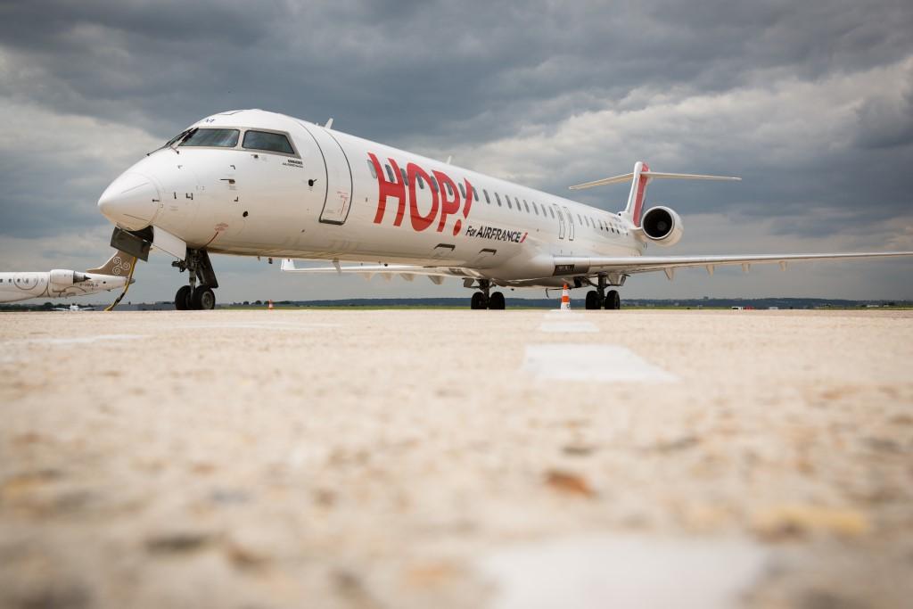 samolot Air France HOP m