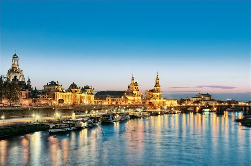 Bliska Polsce piękna Saksonia