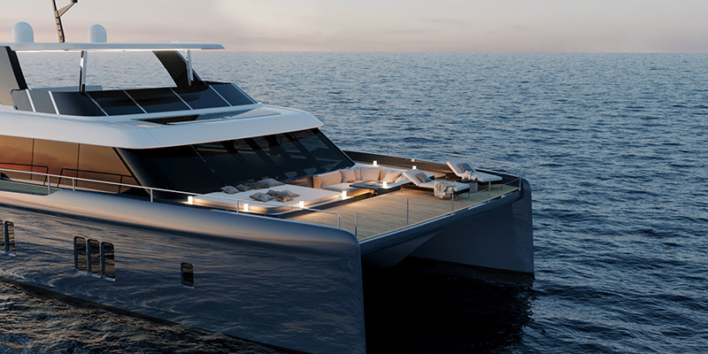 Sunreef Yachts buduje pierwszy jacht 70 Sunreef Power